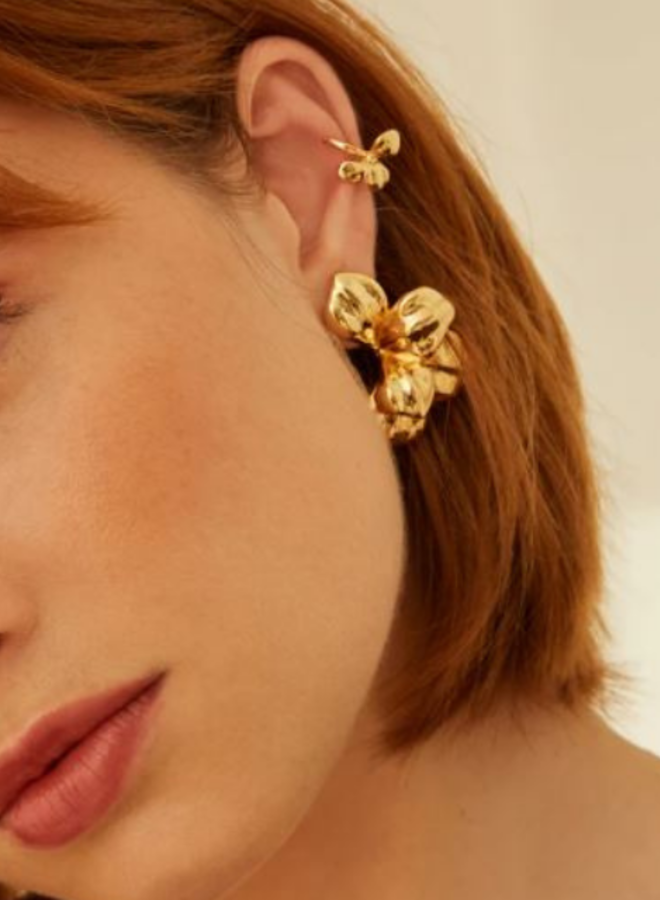 Aleyolé- Single Earcuff Klimt Gold