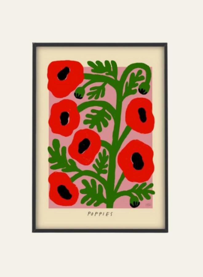 Poster Studio Poppies