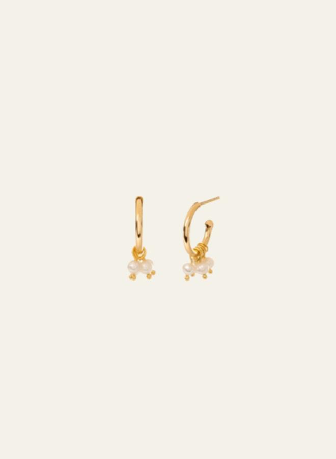 Aleyolé-Single Earring Bisou Gold