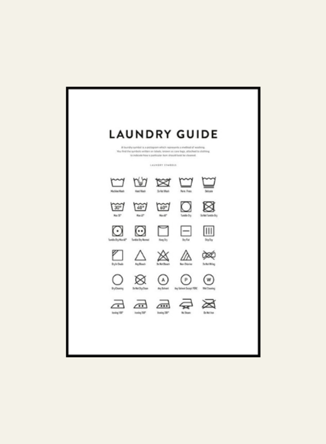 Posterstore Laundry