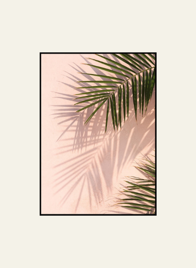 Posterstore Pink Wall Palms