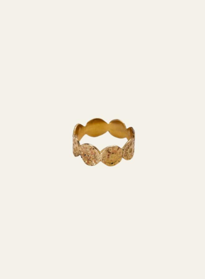 Xzota Brass Ring Tiny Rounds