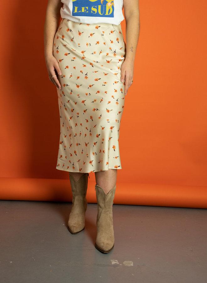 Make My Day Satin Skirt Flower