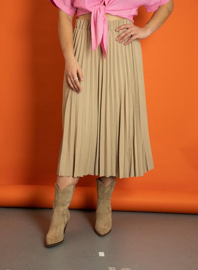 Make My Day Pleated Skirt