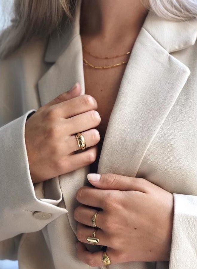 Xzota Molly Ring Brass