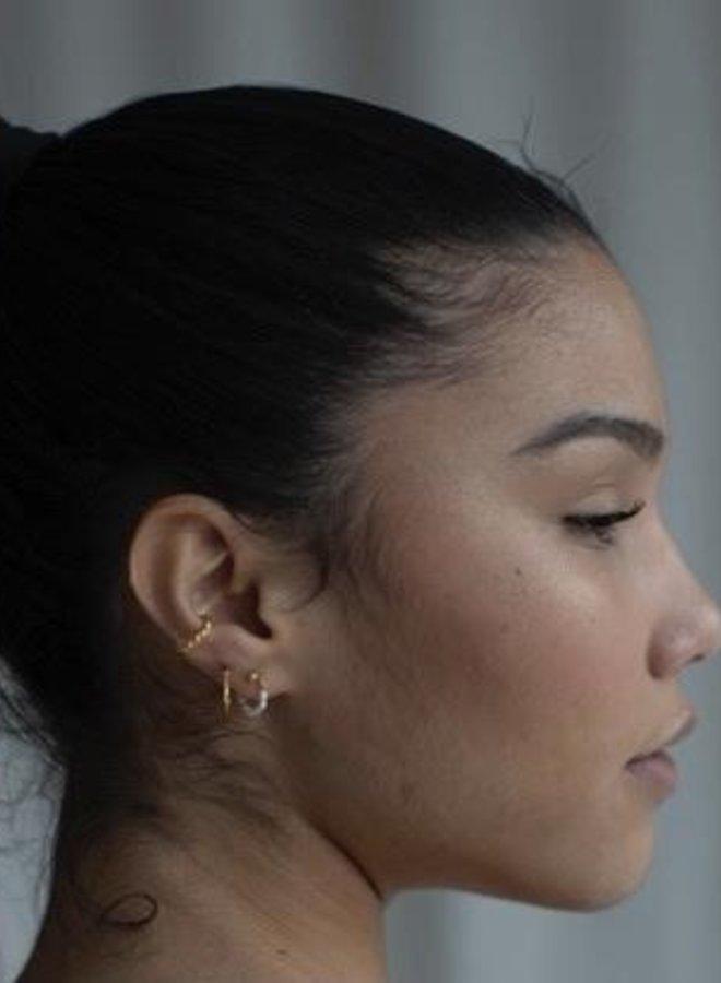 Xzota Earring Twisted Cuff