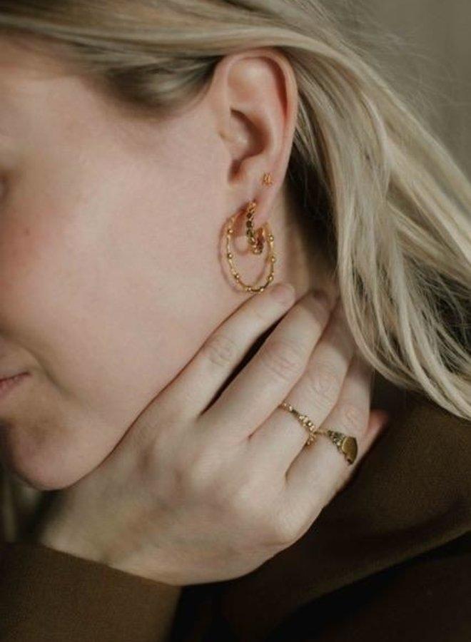 Xzota Earring Tiny Rounds Hoop