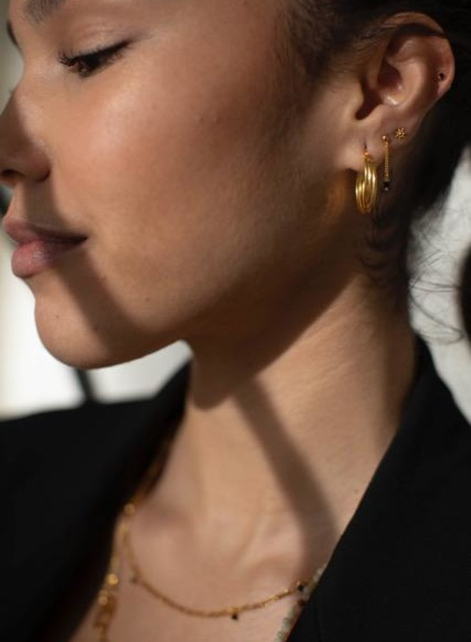 Xzota Earring Spiral Hoop