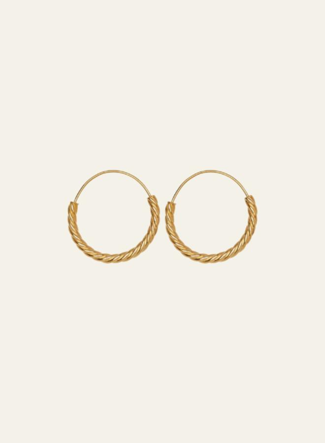 Xzota Earring Twisted Hoop