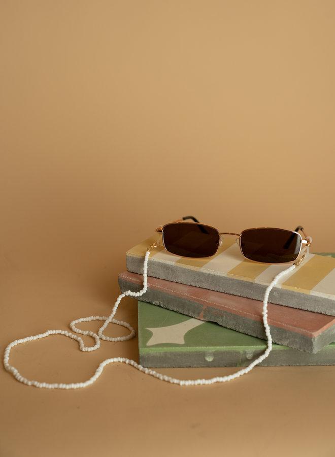 Make My Day Sunglasses Cord Deluxe Coral
