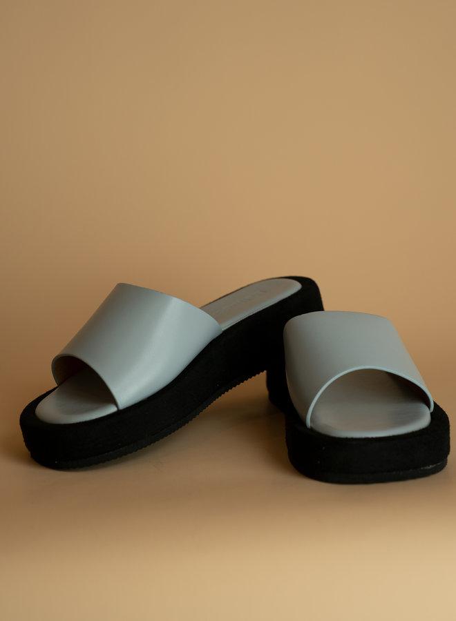 Make My Day Platform band Sandal