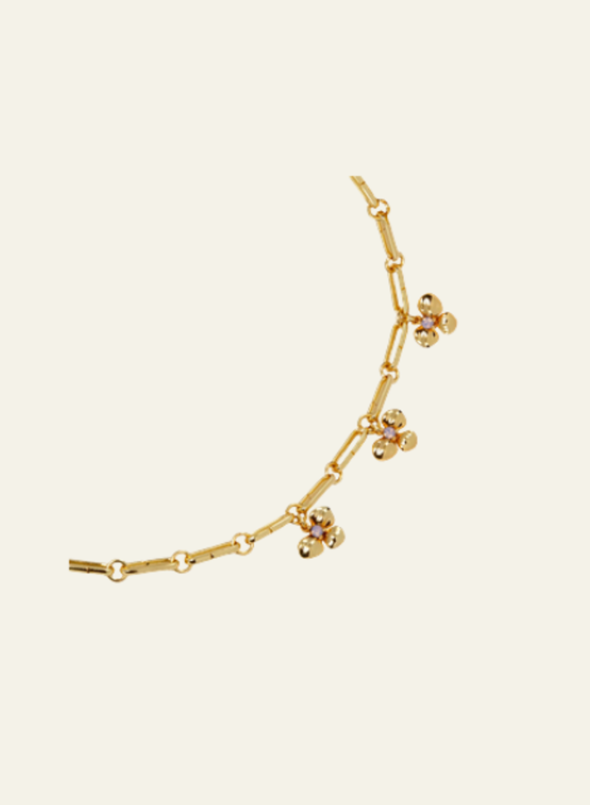 Aleyolé Necklace Agatha Gold