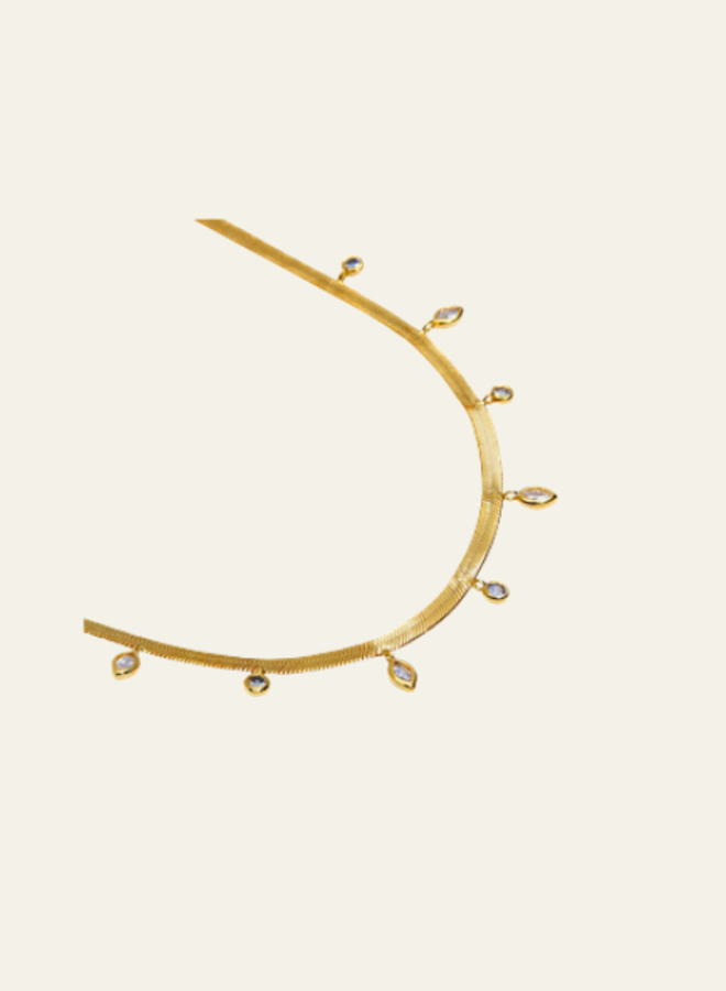Aleyolé  Necklace Horizon Gold