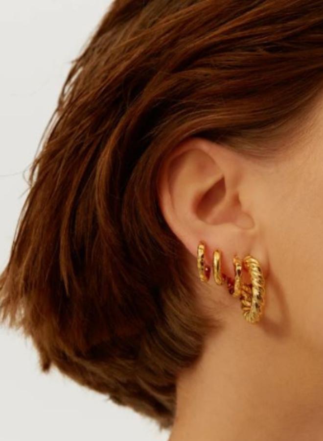 Aleyolé - Single Earrings Charlotte Gold