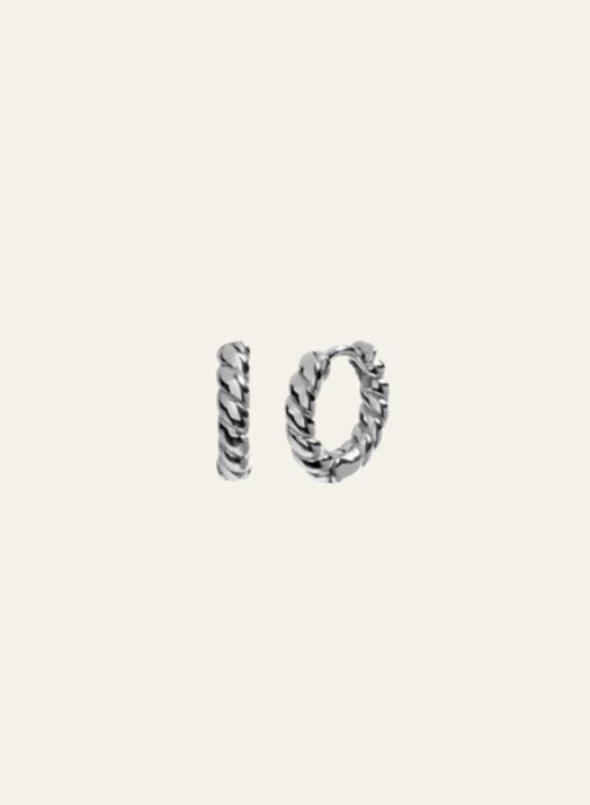 Aleyolé Earring Madeleine Silver