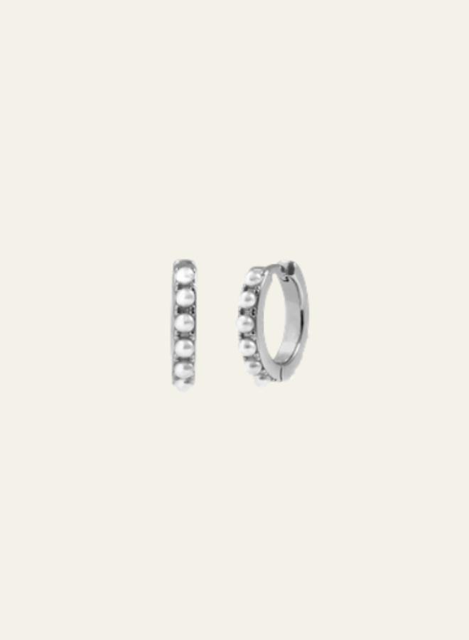 Aleyolé  Single Earring Camelia Silver