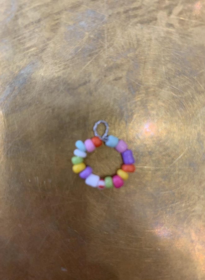 By Julie - Beaded Circle Pendant