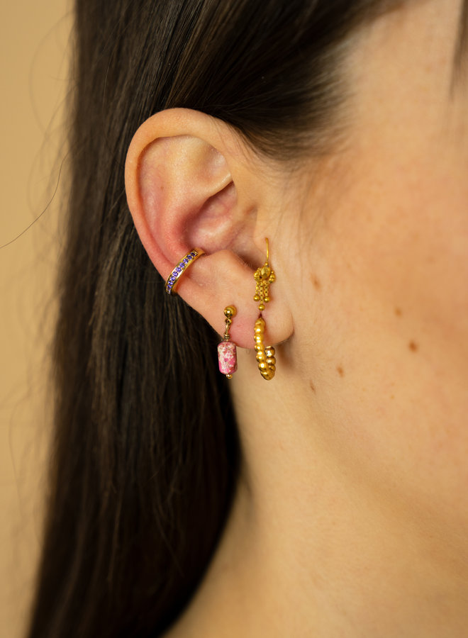 Make My Day earring Dotted