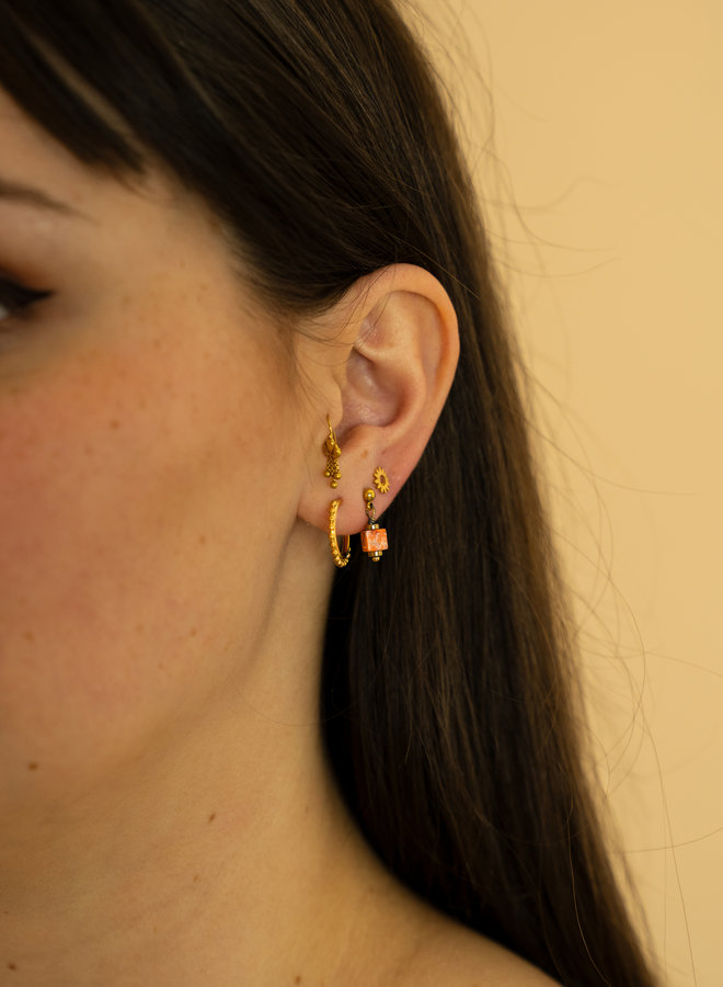 Make My Day Earring Comma