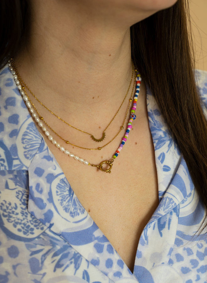 Make My Day Essential Necklace Few Sun Rays