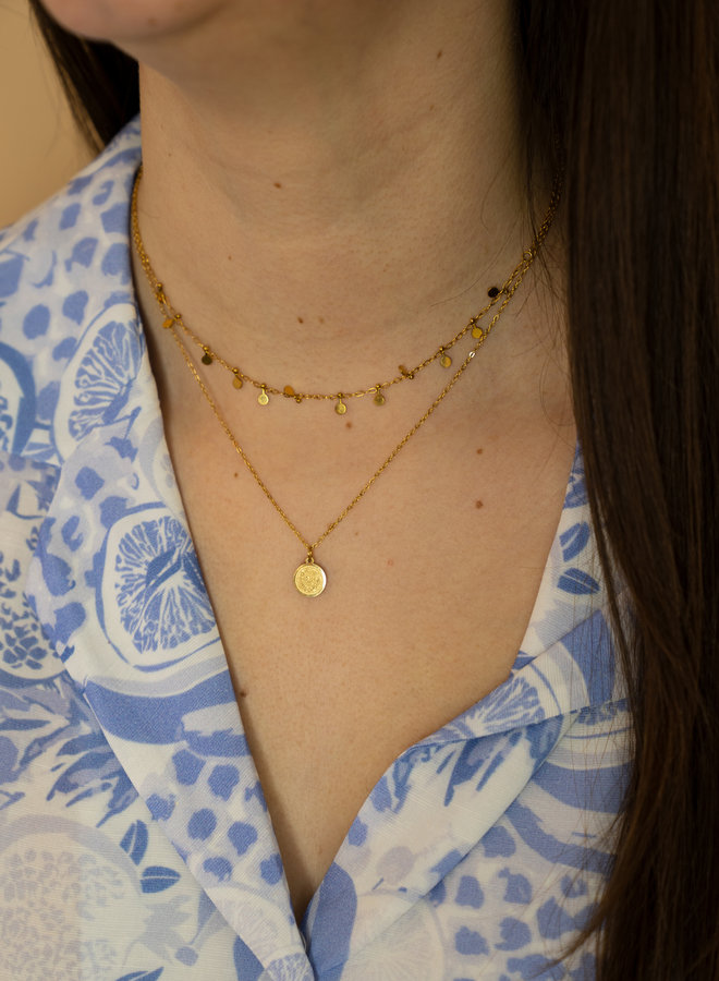 Make My Day Essential Necklace  Sweet Coin