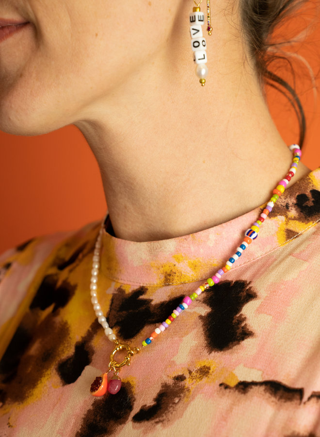 By Julie - Bead & Peal Necklace Big Clasp