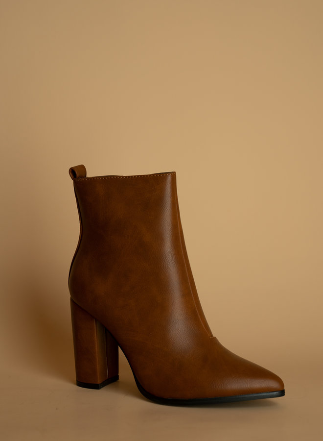 Make My Day Heeled boots