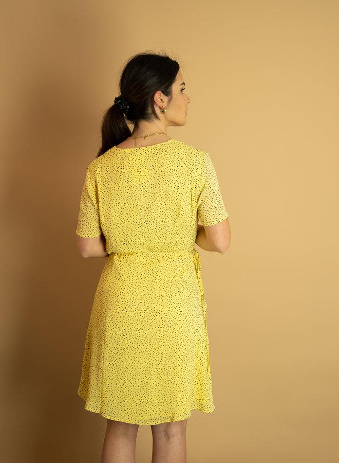 Moss Copenhagen Linoa Rikkelie Wrap Dress
