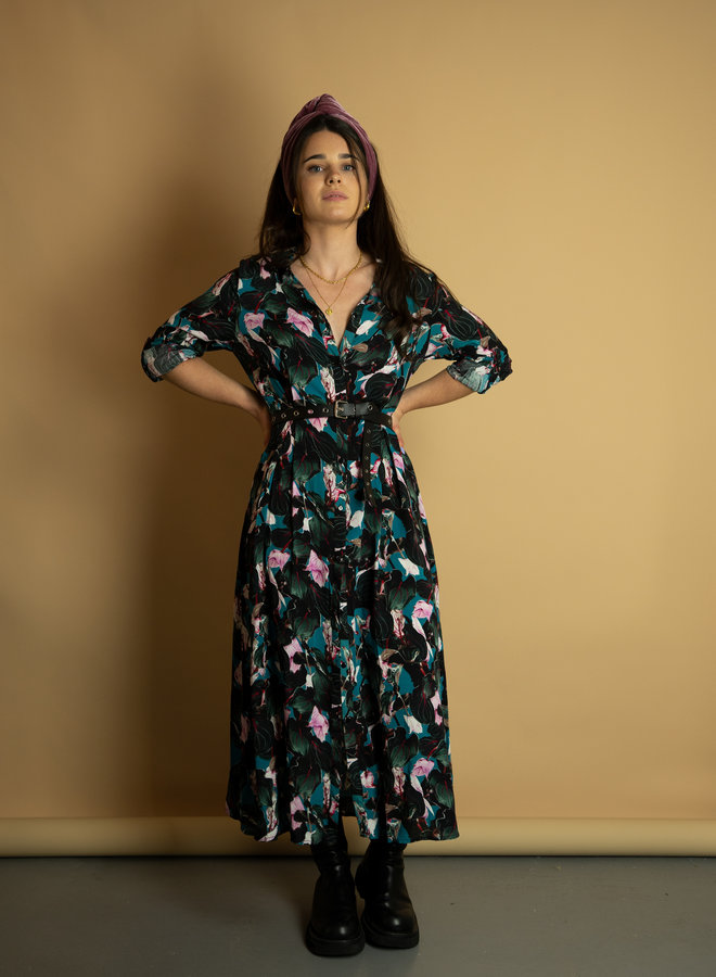 Make My Day Floral Maxi Dress