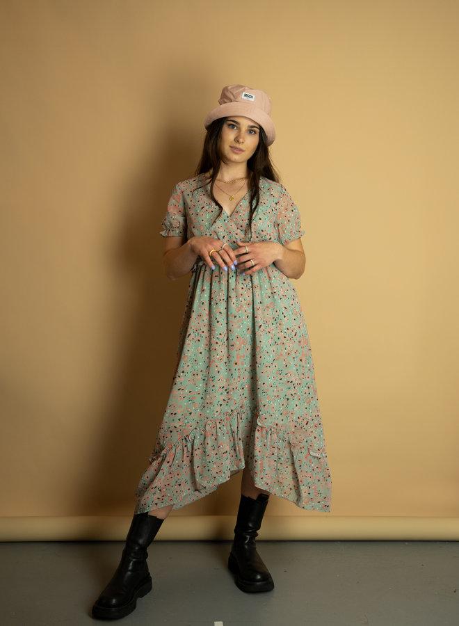 Make My Day Midi Flower Dress