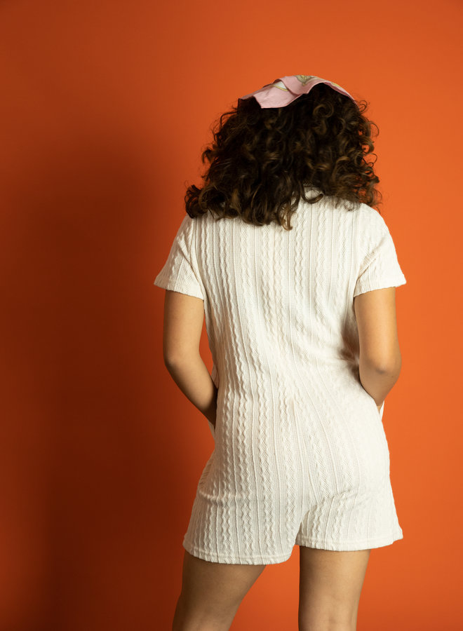 Make My Day Knitted Playsuit