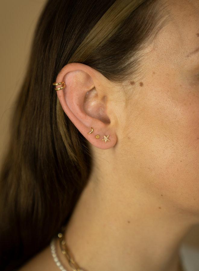 Make My Day Minimal Flower stud Earring