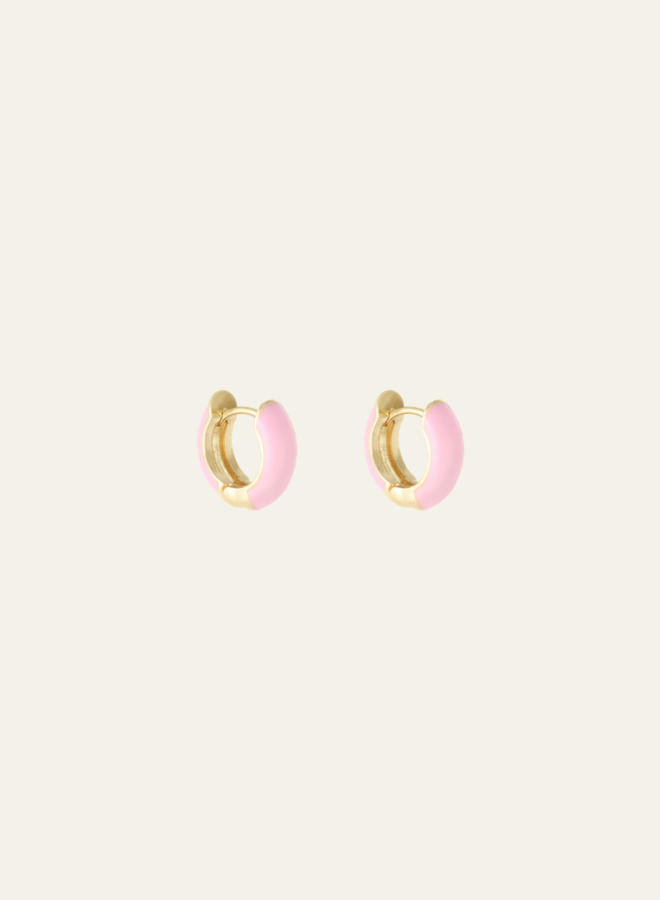 Make My Day Colorful Small Hoops