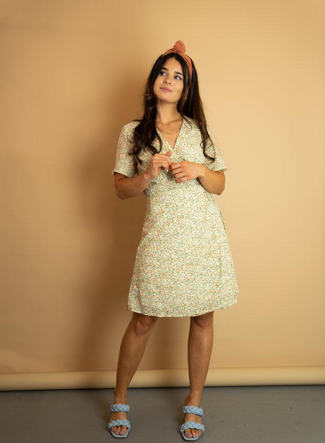 Moss Copenhagen Evette Wrap Dress