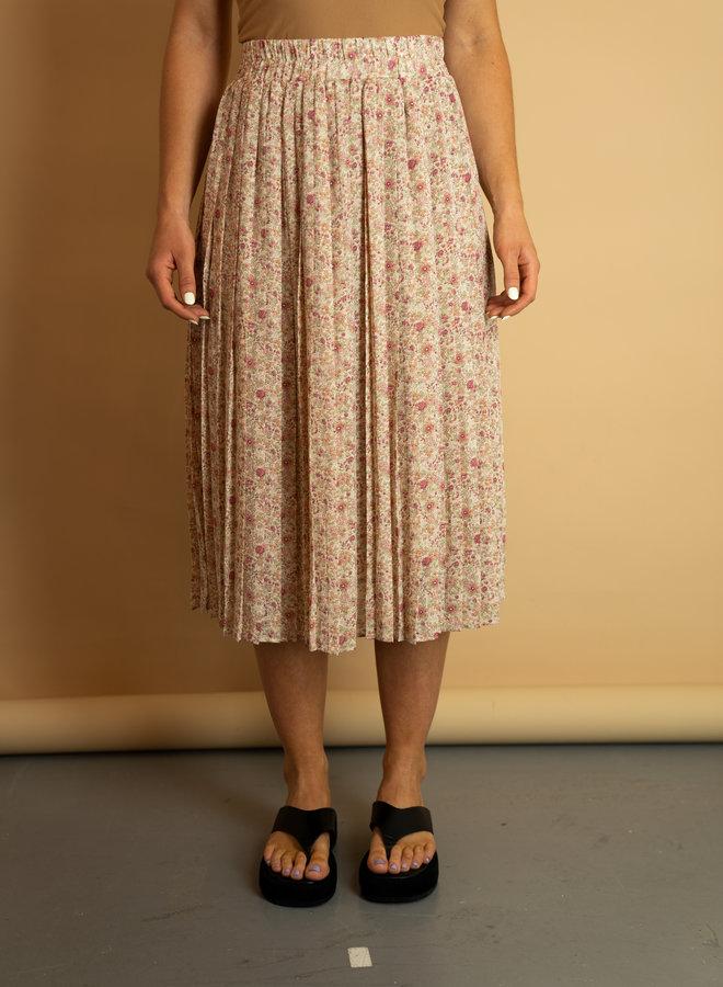 Make My Day Romantic Midi Skirt