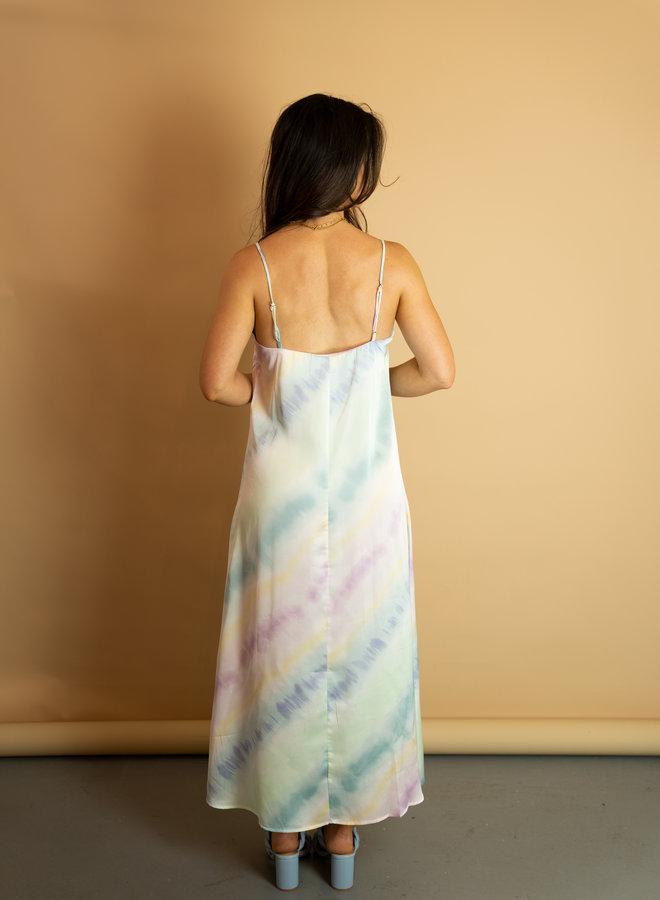 Make My Day Tie Dye Slip Dress