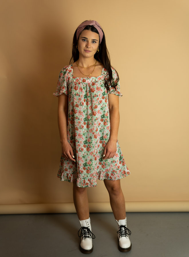 Make My Day Babydoll Dress