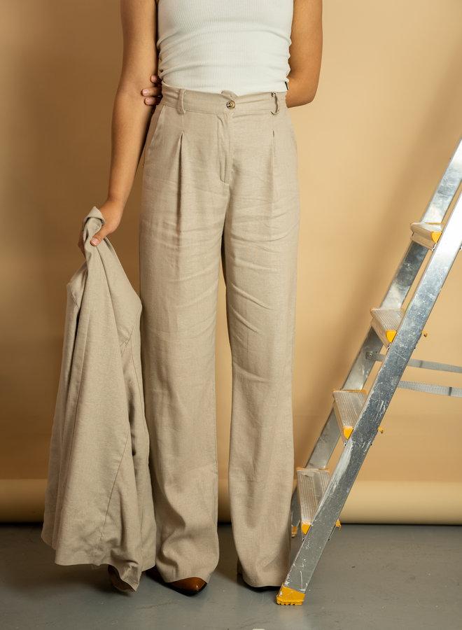 Make My Day Linen Pantalon