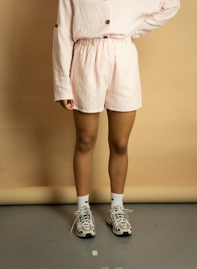 Make My Day Oversized Pink Set Cotton