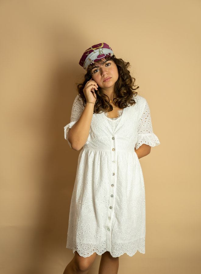 Make My Day Midi Crochet Dress