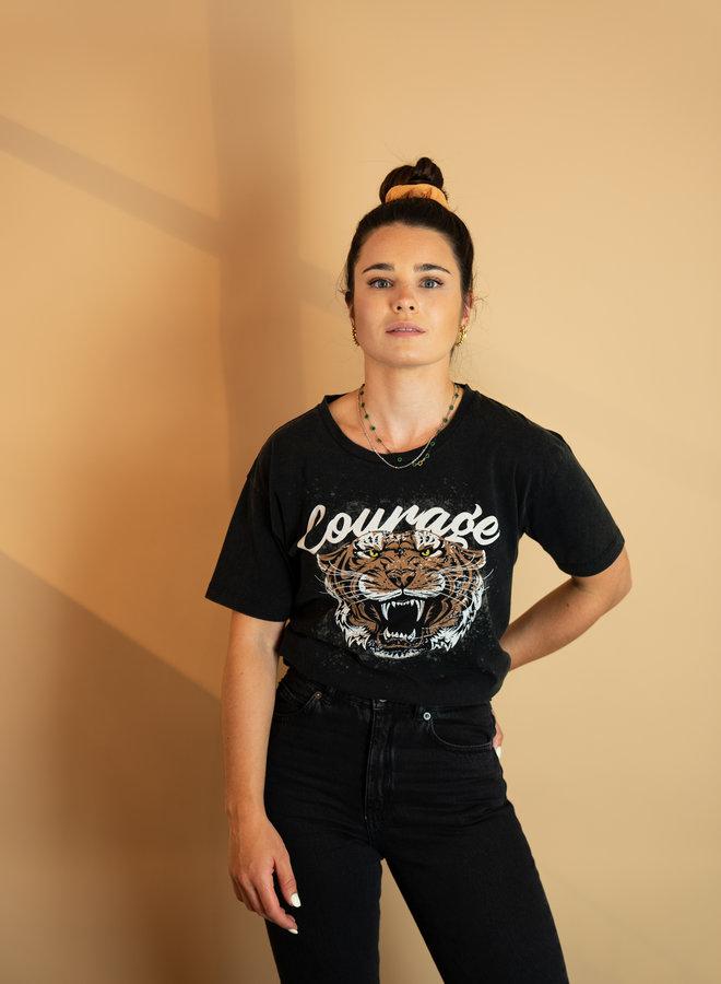 Ichi Tine Washed T-shirt