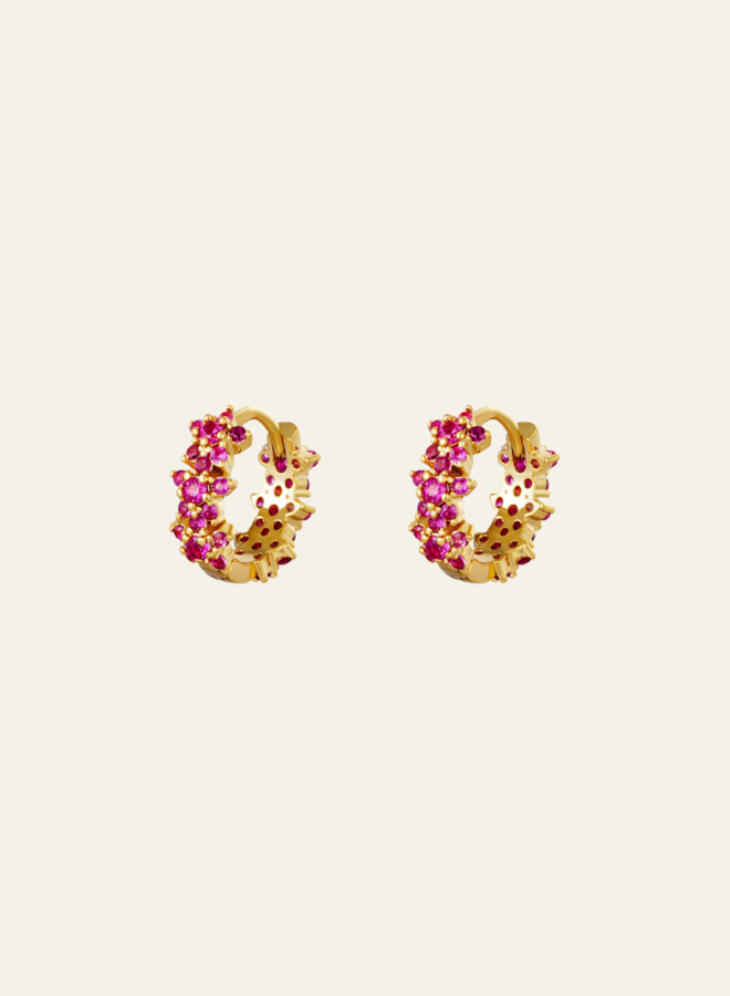 Make My Day Earring Monarch Pink