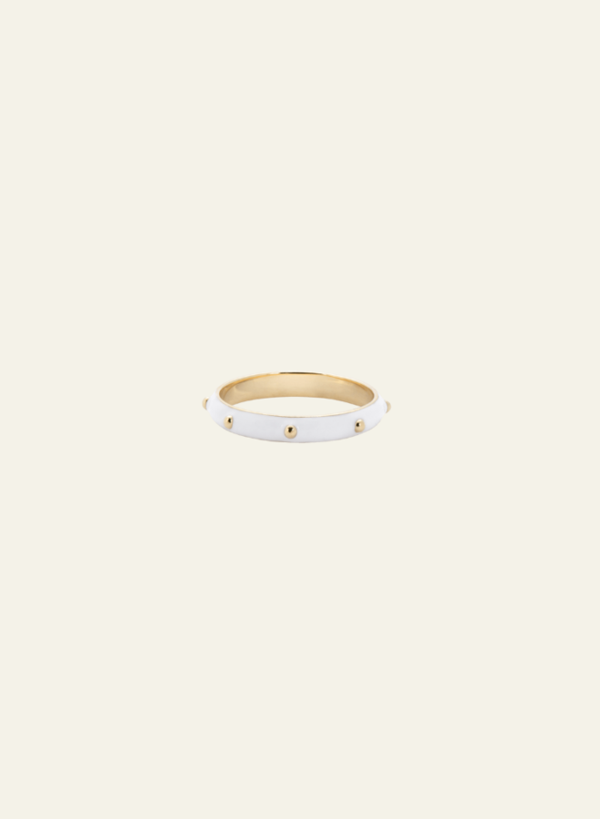 Anna Nina Dolly Ring White Gold