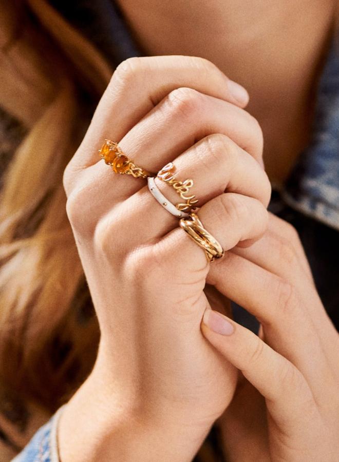 Anna Nina Lucky ring Gold