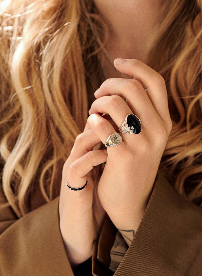 Anna Nina Nevada Ring Gold