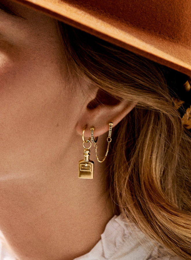 Anna Nina Whisky Charm Earring