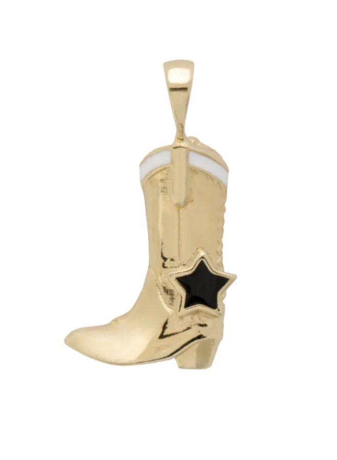 Anna Nina Cowboy Boot Charm Earring
