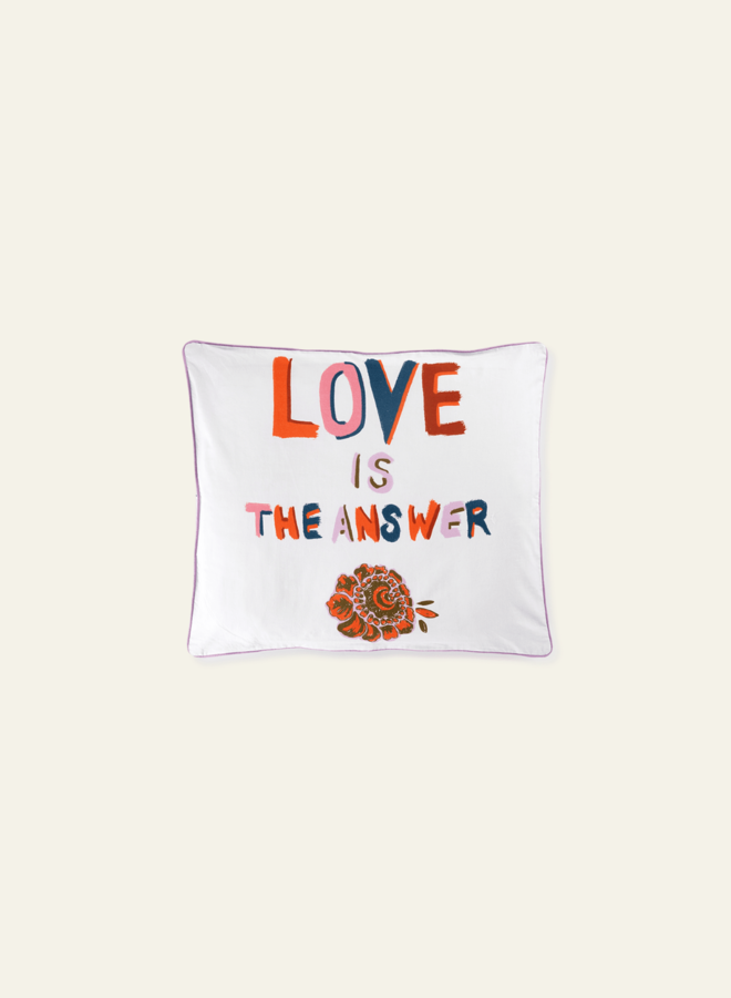 Anna Nina Pillow Case Love Is The Answer