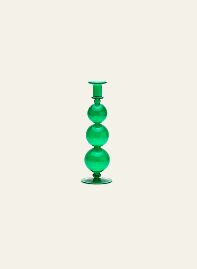 Anna Nina Candle Holder Country Green