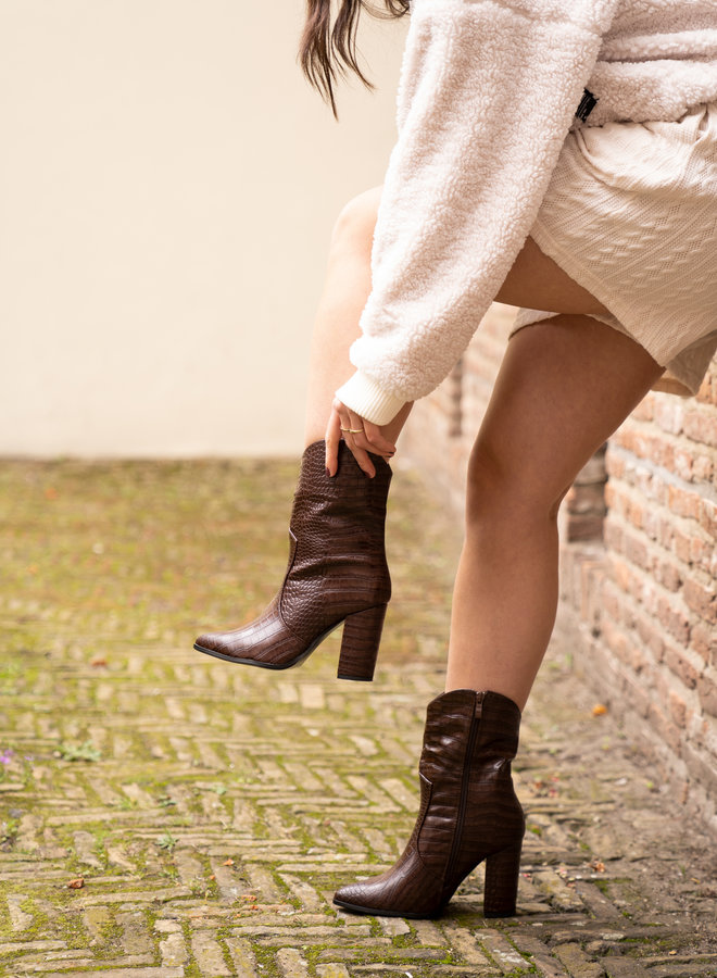 Make My Day Heeled Western Boots
